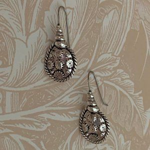 Napier Sterling Silver Earrings